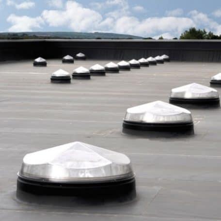 Sun tunnel for flat roof for Sun tunnel basement