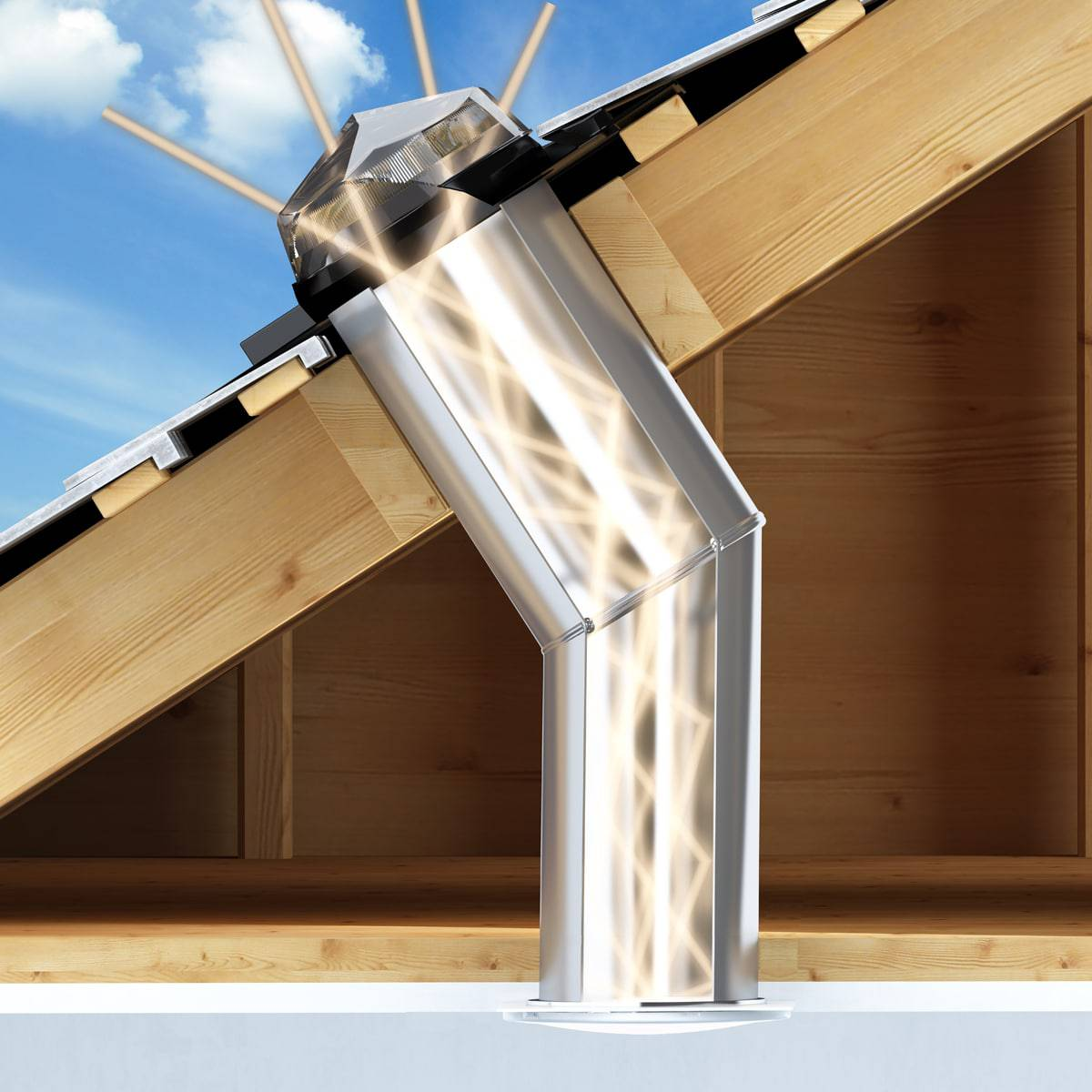 Sun Tunnel For Pitched Roof Bold Roll Tile Buy Online