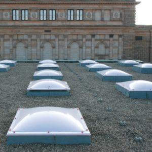 COXDOME Rooflight – Fixed Rooflight for Flat Roofs