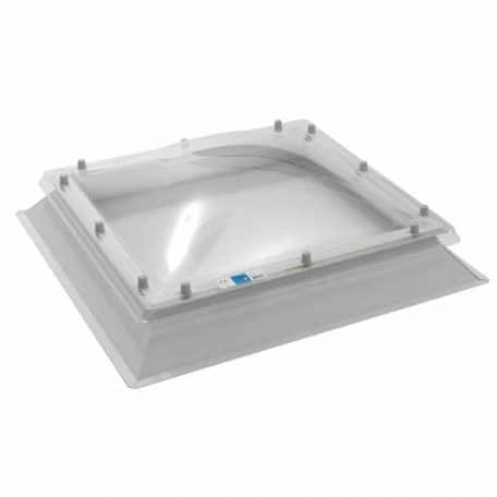 Coxdome fixed rooflight for flat roofs