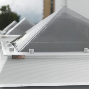 Pyramid Rooflight Coxdome