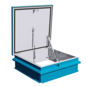 Surespan flat roof access hatch